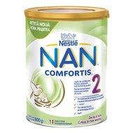 Lapte de continuare pentru sugari Nestlé NAN COMFORTIS 2, de la 6 luni, 800g