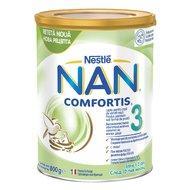 Lapte pentru copii de varsta mica Nestlé NAN COMFORTIS 3, intre 1-2 ani, 800g
