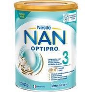 Lapte pentru copii de varsta mica Nestlé NAN OPTIPRO 3 HM-O, intre 1-2 ani, 800g