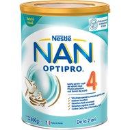 Lapte pentru copii de varsta mica Nestlé NAN OPTIPRO 4, de la 2 ani, 800g