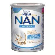 Nestle NAN Fara Lactoza, 400g, de la nastere