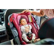 Pachet Cos Auto I-Size Coral + Baza FamilyFix3 Maxi-Cosi