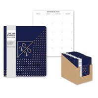 2020 AGENDA   M-T-V WITH NOTE BOOK FOIL
