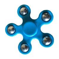 Colour Mini Finger Spinner Albastru