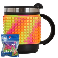 Cana thermo Pixie multicolor, 480 ml