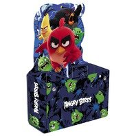 Suport Angry Birds de pixuri de carton