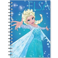 Agenda Frozen spiralata, 17X25 cm, 64 pagini