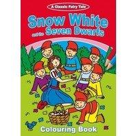 Alba ca zapada si cei sapte pitici-carte de colorat