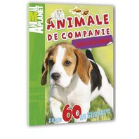 Animal Planet Carte cu stickere: Animale de Companie