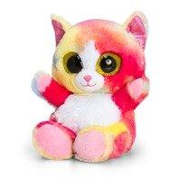 Jucarie de plus Animotsu pisica curcubeu