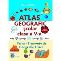 ATLAS GEOGRAFIC CLASA A V-A