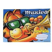 Caiet Garfield muzica