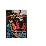 Canvas print, Poster Cinema James Bond, rama de lemn,50 x 70 cm