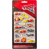 Cars 3 Stickere pufoase 3D