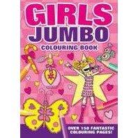 Carte de colorat Jumbo fetita