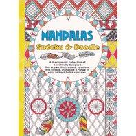 Carte de colorat pentru adulti A5 Mandala si Sudoku