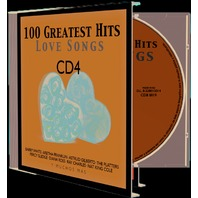 CD Muzica Romantica, 100 Greatest Hits Love Songs, CD 4, 20 melodii