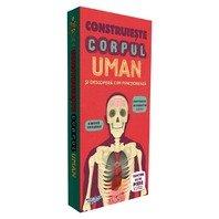 Construieste Corpul Uman si descopera cum functioneaza -  puzzle 3D urias inclus