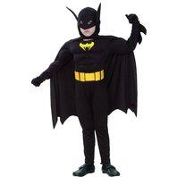 Costum Batman muschi, 7-9 ani
