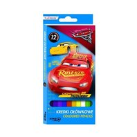 Creioane colorate Cars, 12 culori