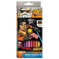 Creioane colorate Star Wars Rebels, 18 cm