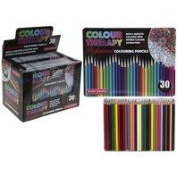 Creioane in cutie metalica pro  , 30 culori