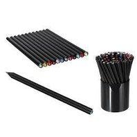 Creion negru cu piatra Swarovski