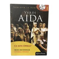 DVD Opere Vol. 1 - Aida (carte si DVD)