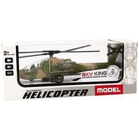 Elicopter Sky King 1:88 (cu sunet si lumini)