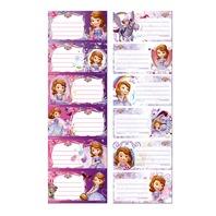 Etichete pentru caiet Sofia