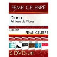FEMEI CELEBRE, 6 DVD
