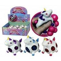 Figurina anti-stres unicorn (mesh ball)