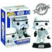 Figurina Funko Pop Star Wars: Stormtrooper Vinyl Collectible Bobble-Head Action Figure