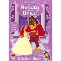 Frumoasa si bestia- carte de colorat cu stickere