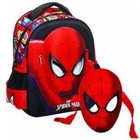 Ghiozdan Spiderman gradinita cu masca