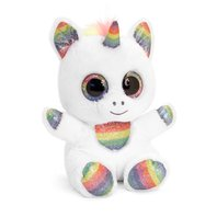 Jucarie de plus Animotsu Rainbow Sparkle Unicorn 15 cm