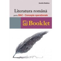 Literatura româna pentru BAC - concepte