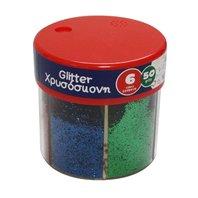 Littlies - Sclipici 6 culori 50gr
