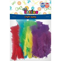 Littlies - Set 30buc puf colorat