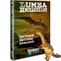 DVD Lumea Dinozaurilor - Zborul Pterosaurului. Aripa de dinozaur. Misterioasa disparitie + jucarie