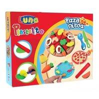 LUNA - plastilina pizza - 3 culori cu forme 60gr