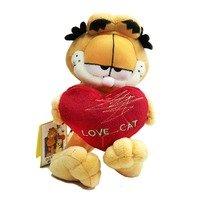 Jucarie de Plus Garfield Inima, 23 cm