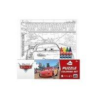 Puzzle de colorat Cars