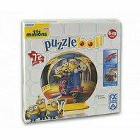 Puzzle rotund (bila) Minionii / Puzzleball Minions (72 piese)