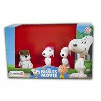 Set 3 figurine The Peanuts Movie - Snoopy si fratii sai