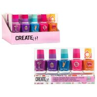 Set 5 lacuri de unghii pentru fetite care isi schimba culoarea