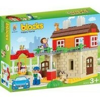 SET BLOCURI DE CONSTRUIT HAPPY HOME SET 95PCS