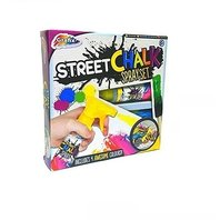 Set creta colorata spray pentru asfalt, 4 culori