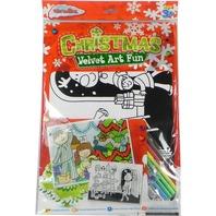 Set de arta, Fun Christmas cu catifea