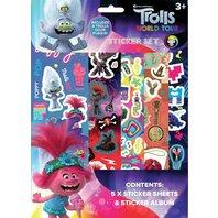 SET DE STICKERE Trolls 2